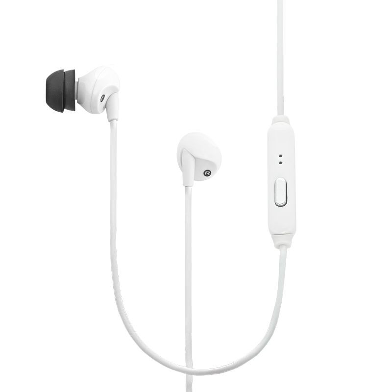 RE300a InLine Control Earphone-White
