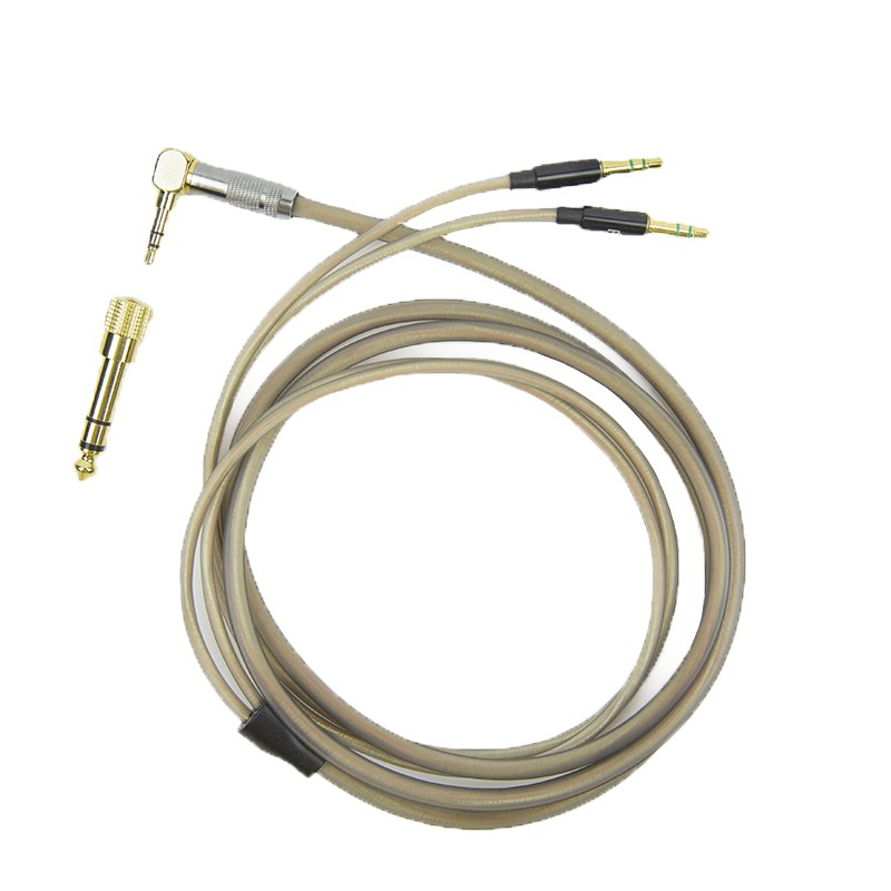 Crystalline Copper-Silver TRS Cable for HE1000 V2 3.5mm-to-3.5mm