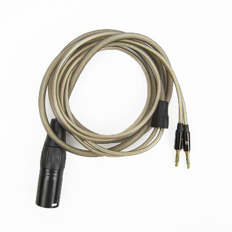 Crystalline Copper Silver Xlr 4 Pin Balanced Cable For He1000