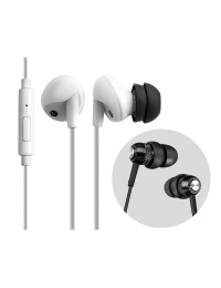 RE300a InLine Control Earphone-White+RE0